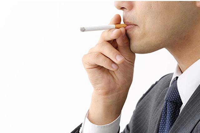 タバコを吸っているとED